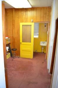 Rear Bathroom and reception area.